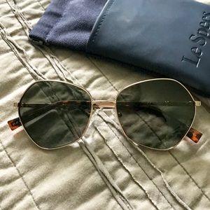 Accessories - Le Specs Escadrille 57mm Angular Sunglasses
